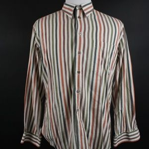Paul Fredrick Long Sleeve Button Down Shirt XL